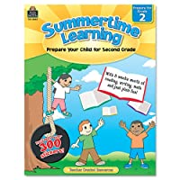 Summertime Learning, Reading, Writing, Math, Grade 2, 112 Pages (並行輸入品)