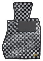 KARO(カロ) フロアマット SISAL シルバー/ブラック ミツビシ アウトランダー 2093(一台分)