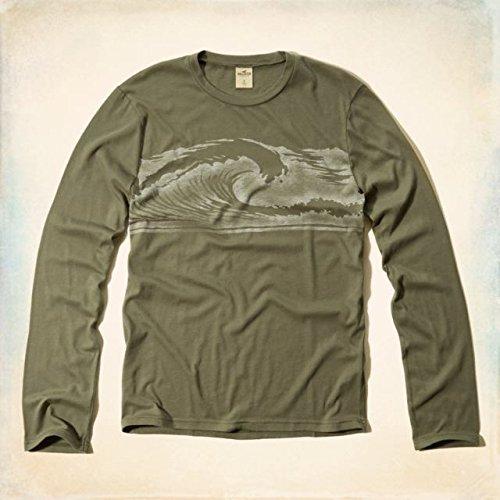 (ホリスター) Hollister Co. 【Sサイズ 】 クルーネックTシャツVintage Surf Shop 【olive/オリーブ】 並行輸入品