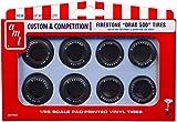 AMT 1/25 ファイアストン ドラッグ500 タイヤセット プラモデル用パーツ AMTPP22