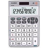 カシオ テンキー電卓 ジャストタイプ 12桁 MZ-20SR-N
