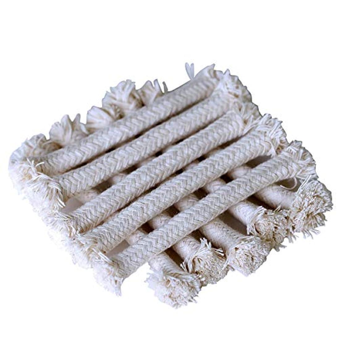 煙突ファイル剥離Yardwe バーナー アルコールランプウィックサイフォンコーヒーメーカー 18PCS(白)