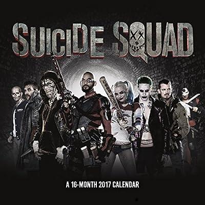 Suicide Squad 2017 Calendar
