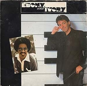 """Ebony And Ivory - Paul Mccartney 7"""" 45"""