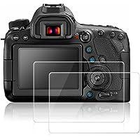 Canon EOS 6D Mark II 用 液晶保護フィルム AFUNTA MarkII スクリーム保護シート キャノン 6D Mark2 カメラ用 液晶フィルム 強化ガラス 2枚入り