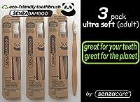 Ultra Soft Adult SenzaBamboo Eco-friendly Toothbrush (3)