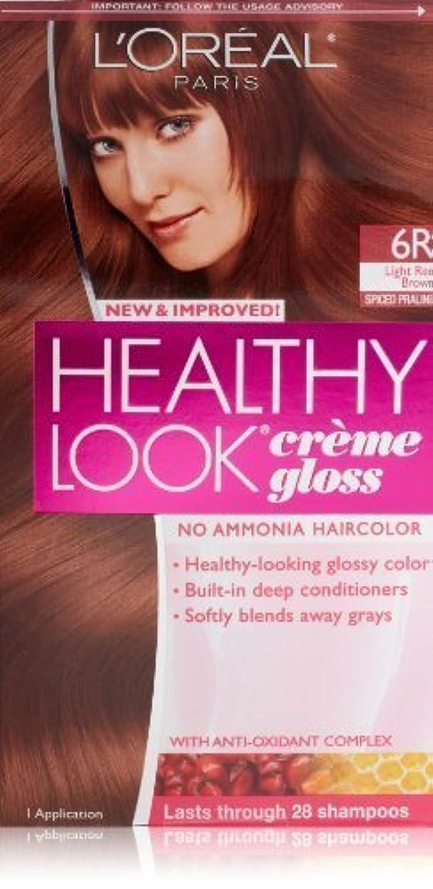 裸ジョグ人種Healthy Look Light Red Brown, Spiced Praline by L'Oreal Paris Hair Color [並行輸入品]