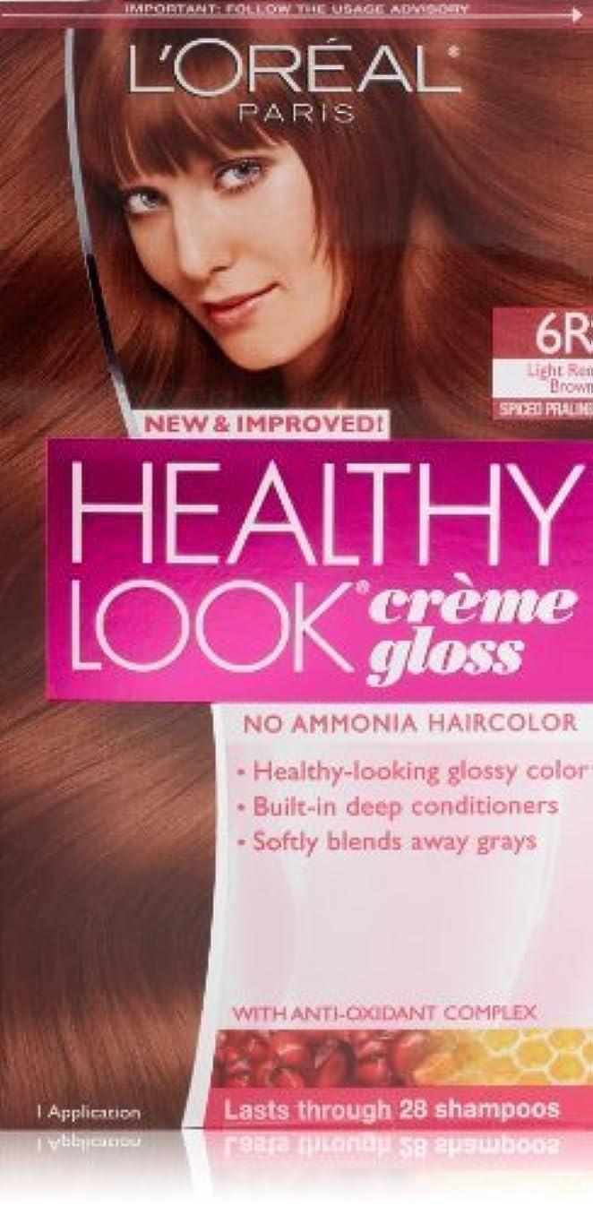 にぎやかアイスクリーム指定するHealthy Look Light Red Brown, Spiced Praline by L'Oreal Paris Hair Color [並行輸入品]