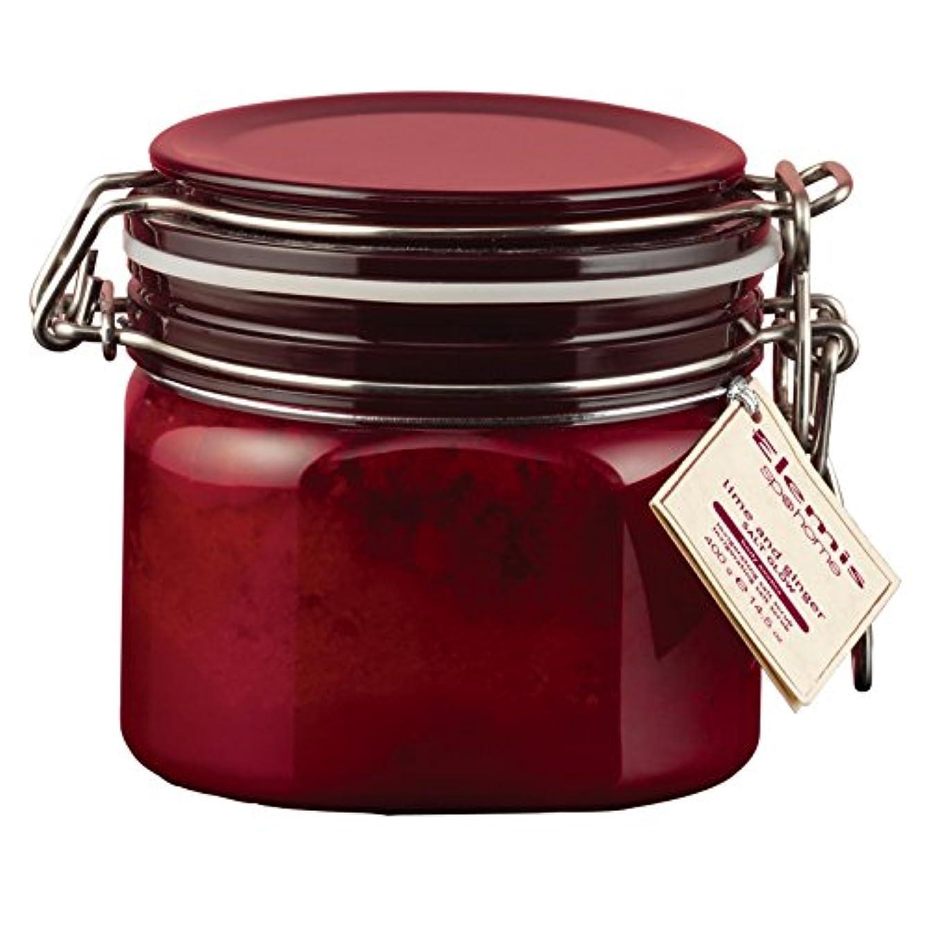 咳れるフォアタイプエレミスライムとジンジャーソルトグロー410グラム (Elemis) - Elemis Lime and Ginger Salt Glow 410g [並行輸入品]