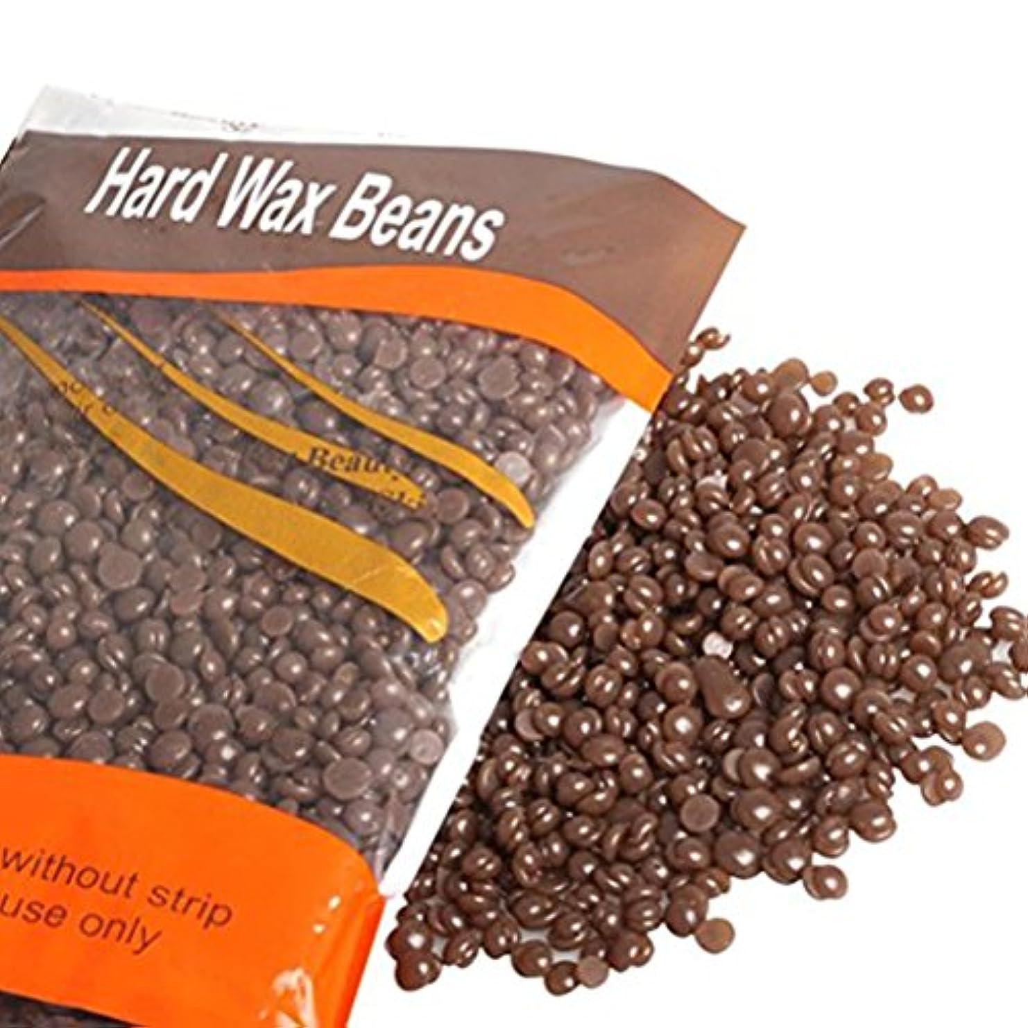 積分毎年充電Healifty ワックス豆 脱毛 ワックス ワックス豆ペレット ムダ毛 ひげ わき すね ビキニ 全身で利用でき スパチュラ 脱毛紙 ワックス豆 300グラム(チョコレート)