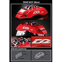 D2 レーシングスポーツ AUDI S4(UFO)φ-φ(97-97) (HUB M12) 91~94 5 X 112スポーツキャリパー(ダストブーツ無) 8 POT Sport Caliper 356X32 フローティング 推奨ホイール径 : 18インチ AU15-2