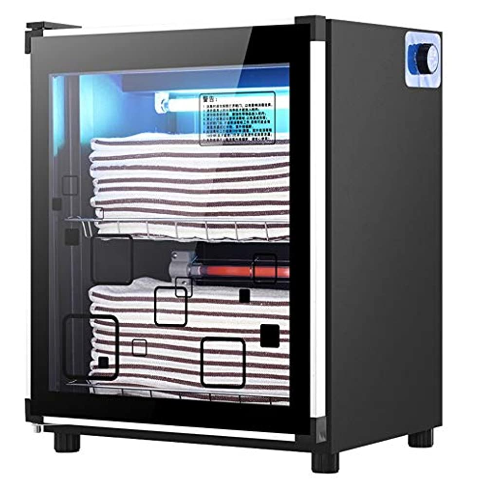 伴うほのめかすディスクUVオゾン滅菌キャビネットホットタオルウォーマーウェットタオルヒーター、スパ/フェイシャル/理容室/サロン機器/家庭用(3サイズ)