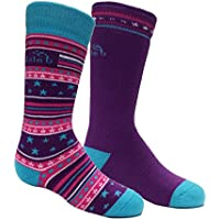 Bridgedale Kids & Baby Merino Ski Socks - 2 Pack