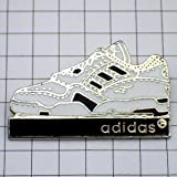adidas 靴 限定 レア ピンバッジ アディダス靴スニーカー片方 ピンズ フランス