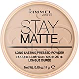 Rimmel Stay Matte Pressed Powder, Silky Beige Nr. 005, 14 g