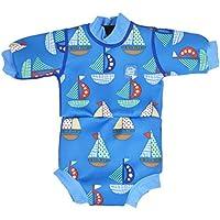 Splash About Babies Happy Nappyウェットスーツ – Set Sail、12 – 24ヶ月by Splash About