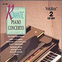 VARIOUS:The Romantic Piano Concerto, Vol. 4: Raff Op. 185, Mosonyi, Stavenhagen Op. 4, Liszt Malediction, D'Albert Op 12, Bronsart Op. 10