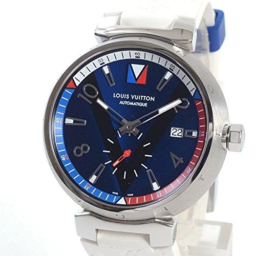 [ルイヴィトン]LOUISVUITTON 腕時計 タンブール Q1D211 中古[1289197] 付属:国際保証書 ボックス ICカード