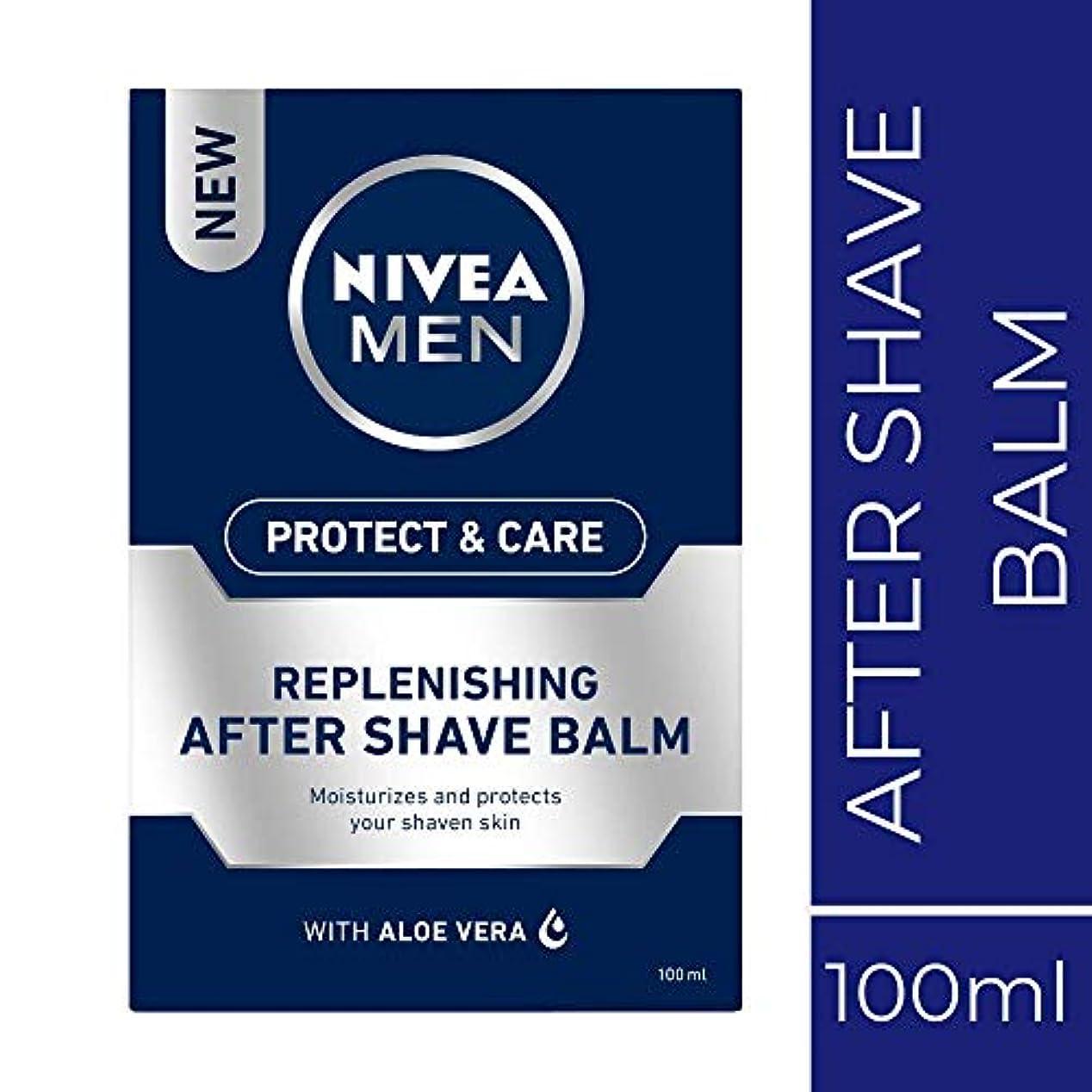 セレナ決済緯度NIVEA MEN Protect and Care Replenishing after Shave Balm, 100ml, with aloe vera moisturises and protects your...