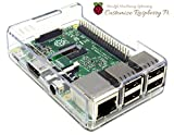 Raspberry Pi 3B/2B/B+ 専用ケース (Clear)