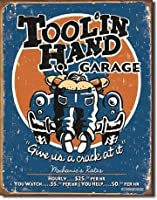 1319 Moore - Toolin' Hand / ブリキ看板 TIN SIGN