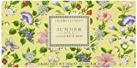 Summer Hill - Triple-Milled Soap by Crabtree & Evelyn [並行輸入品]
