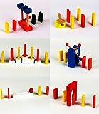 ドミノ しかけ ギミック 仕掛けセット 10種セット 木製  (ドミノ別売り)