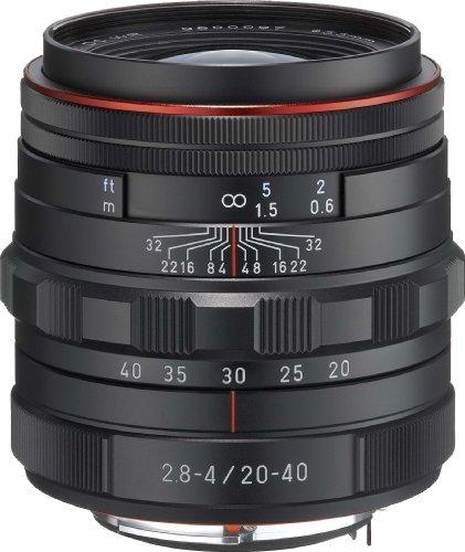 HD PENTAX-DA 20-40mmF2.8-4ED Limited DC WR ブラック