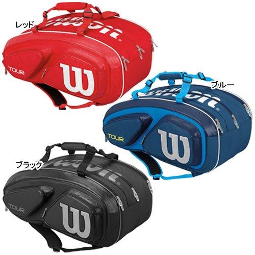 Wilson(ウイルソン) テニスバッグ 錦織圭 使用モデル ツアー V 15パック (ラケット15本収納) WRZ867615