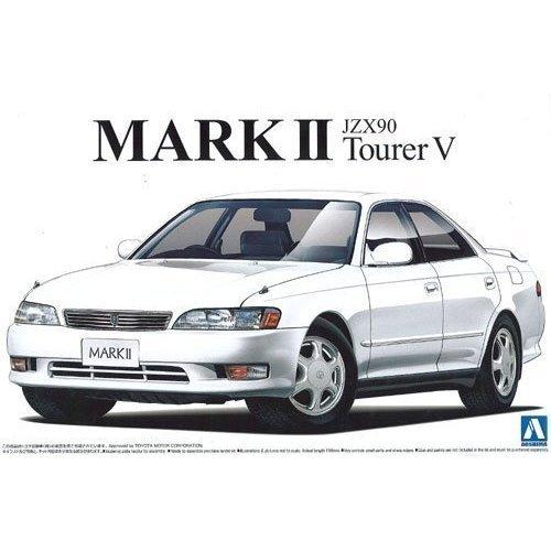 44 AOSHIMA Toyota Mark II Tourer V JZX90 1//24 The Best Car GT Series No
