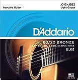 Best ダダリオアコースティックギター - 【3セット】 D'Addario ダダリオアコースティックギター弦 EJ-11 〔np〕【Ebiオリジナルピック付】 Review