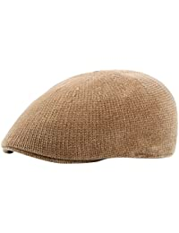 Zhuhaitf 帽子 Womens Knitted Warm Ivy Newsboy Paperboy Cabbie Driving Hat Berets Cap