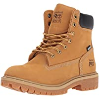 "Timberland Pro Women's Direct Attach 6"" Steel Toe Waterproof Insulated Industrial and Construction Shoe Brown"