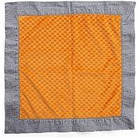 OneグレースプレイスTeyoのタイヤBinky毛布、グレー/オレンジ