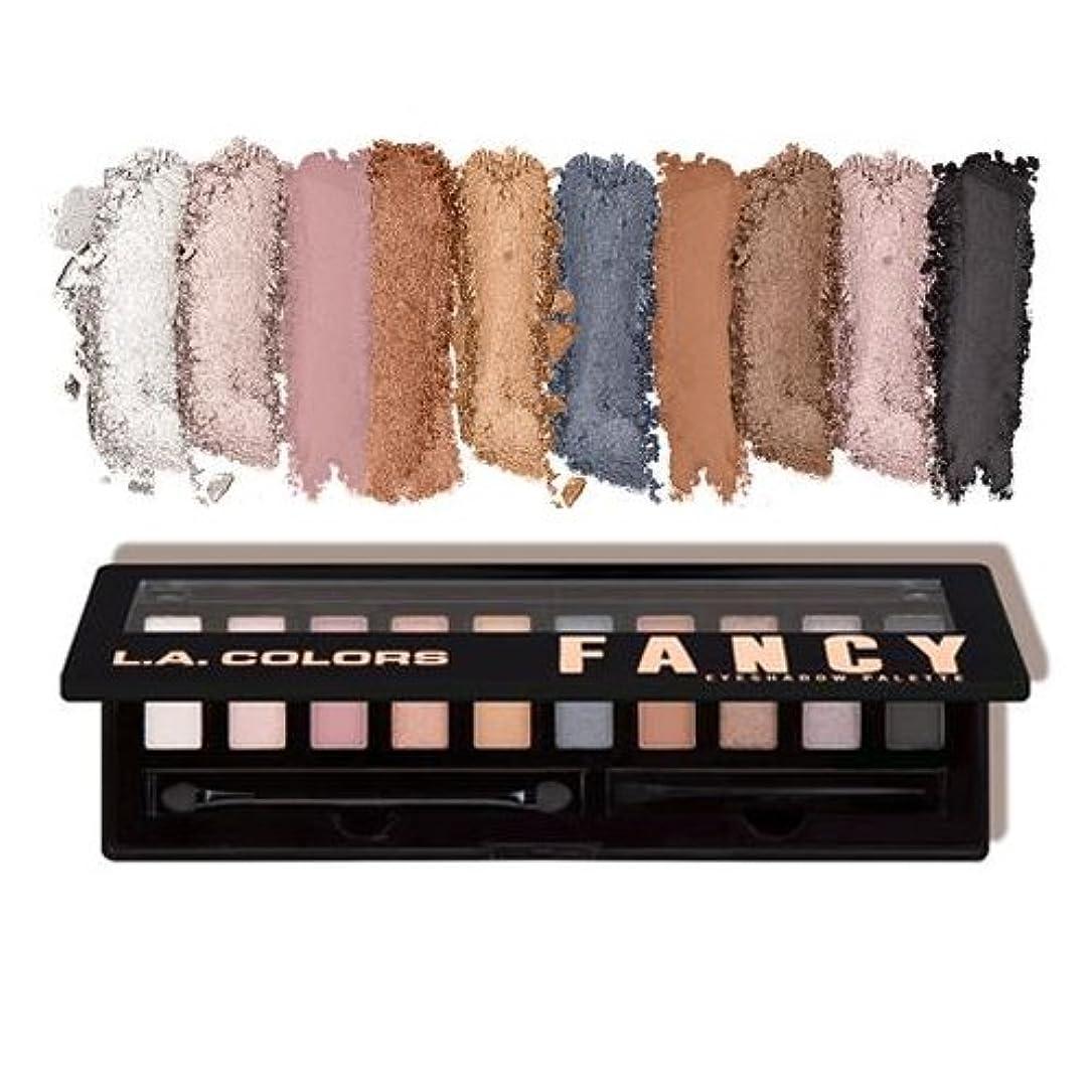 色合いプラットフォーム武器(3 Pack) L.A. COLORS Personality Eyeshadow Palette - Fancy (並行輸入品)