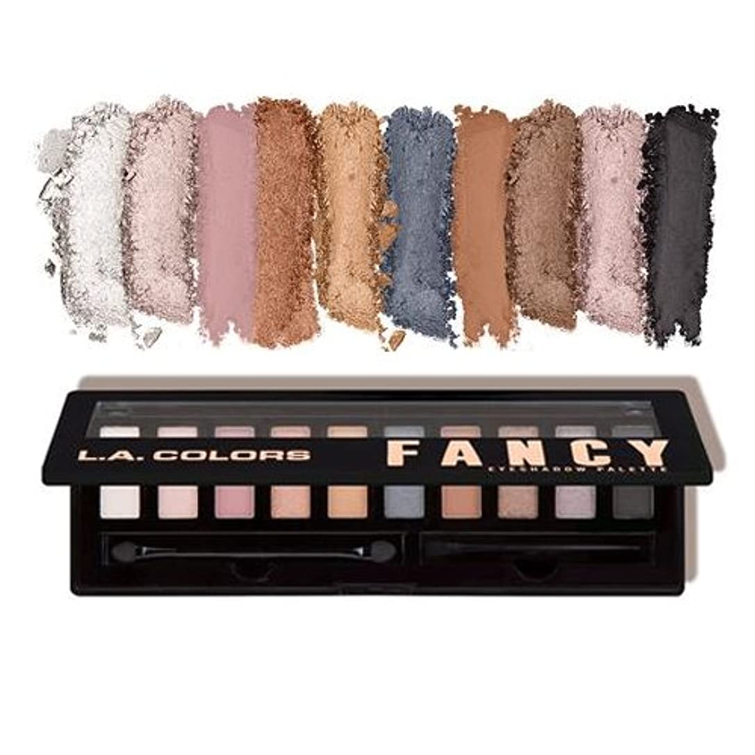 ペッカディロ傾向がある行方不明(3 Pack) L.A. COLORS Personality Eyeshadow Palette - Fancy (並行輸入品)