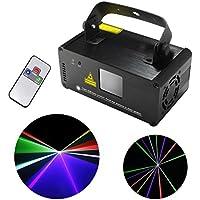 ミニ赤外線リモコンDMX512フルカラー、赤、緑、青のレーザー舞台照明プロジェクターDJダンスパーティーの舞台照明 DM-RGB400