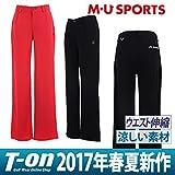 MUスポーツ MU SPORTS ロングパンツ ゴルフウェア レディース 701v2500