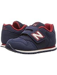 (ニューバランス) New Balance キッズランニングシューズ??スニーカー?靴 KV373v1 (Infant/Toddler) Navy/Red 2 Infant (9.5cm) W