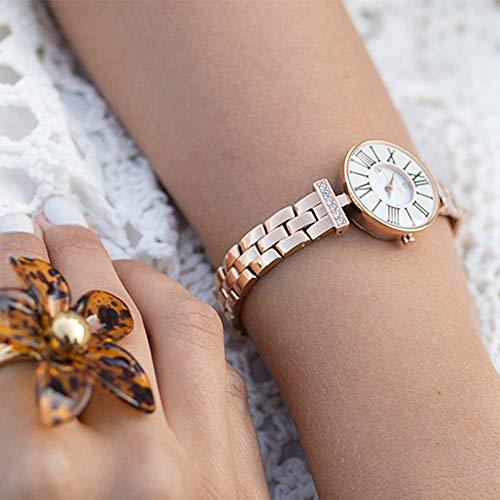 [フォリフォリ] 腕時計 MINI DYNASTYピンクゴールドステンレスウォッチ WF15B028BSW-XX 正規輸入品 ピンクゴールド