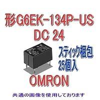 オムロン(OMRON) G6EK-134P-US DC24 (25個入) マイクロリレー NN