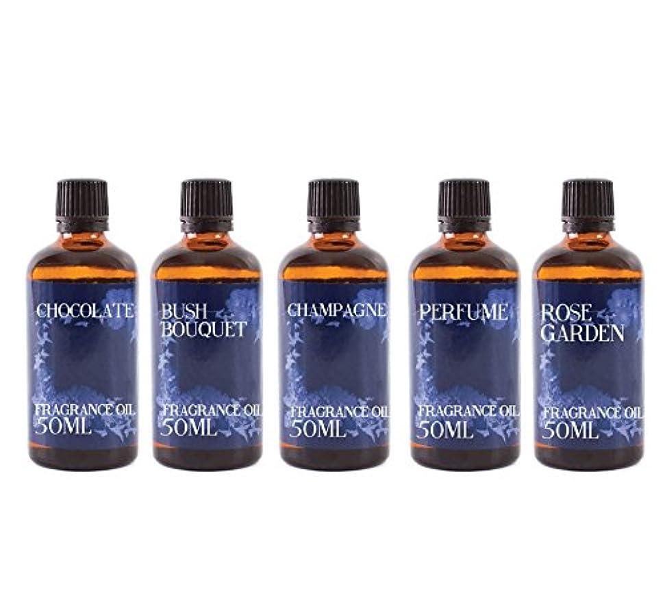 表面的なラップごちそうMystic Moments | Gift Starter Pack of 5 x 50ml Valentines Romance Fragrant Oil