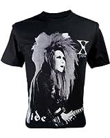 (イモータル)Immortal メンズ Hide X-Japan Rock Tシャツ V2 ブラック