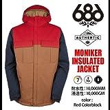686 スノーボード ウェア ジャケット MONIKER JACKET S