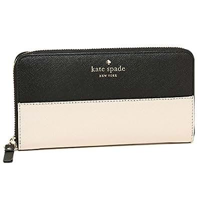 (ケイトスペード) kate spade ケイトスペード 財布 KATE SPADE PWRU3898 047 CEDAR STREET LACEY ラウンドファスナー長財布 BLACK/PEBBLE[並行輸入品]