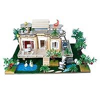 Perfk DIY手芸品 ドールハウス ガーデン ミニチュア 手作り プロジェクト 子供 おもちゃ インテリア飾り 全5カラー - #5