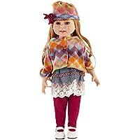 hoomai人形18インチLifelike Smiling Rebornベビー人形Realistic愛らしい新生児かわいい人形おもちゃ