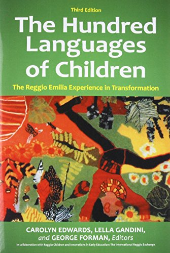 Download The Hundred Languages of Children: The Reggio Emilia Experience in Transformation 0313359814