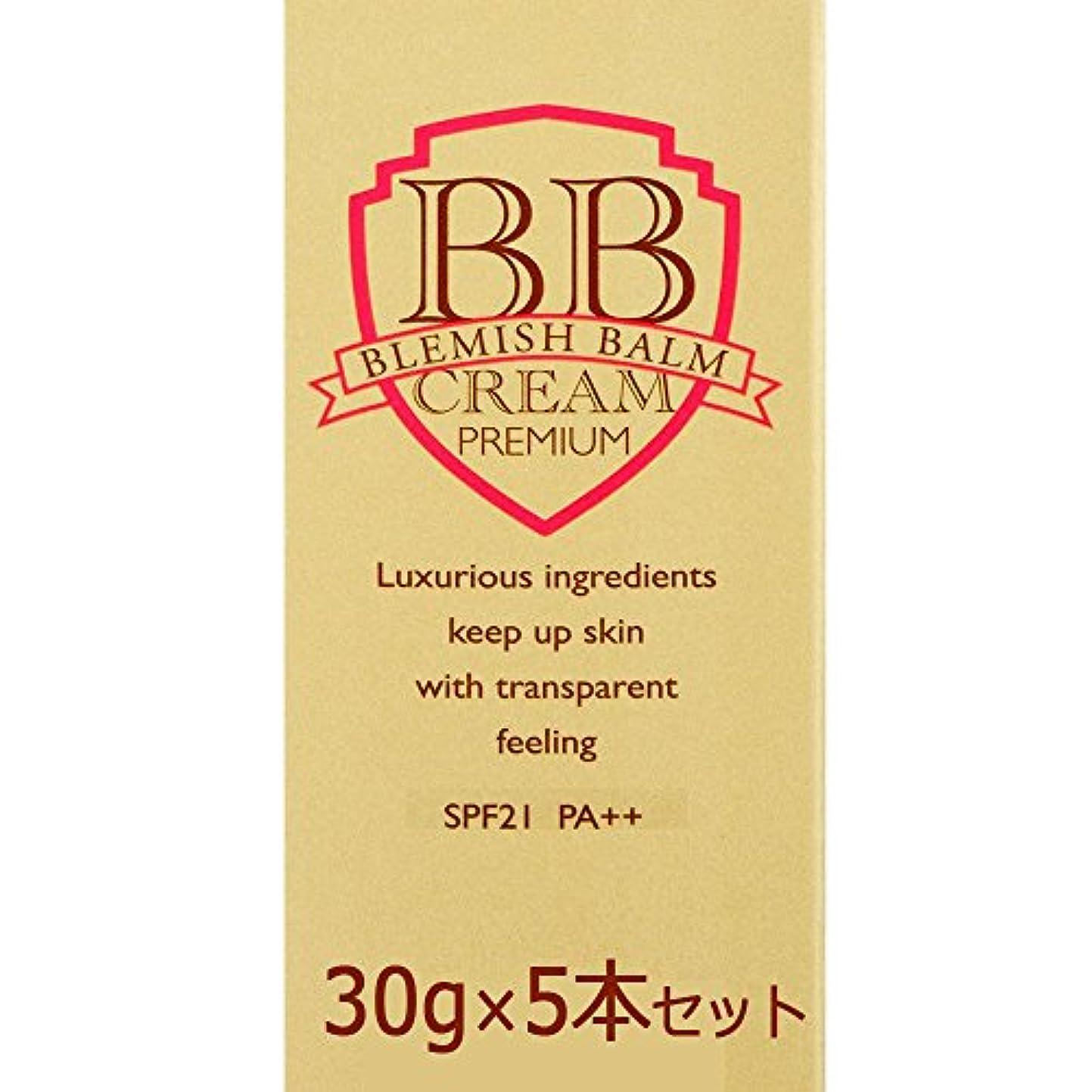 蒸目の前の有毒なピエラス プレミアムBBクリーム 30g×5本セット