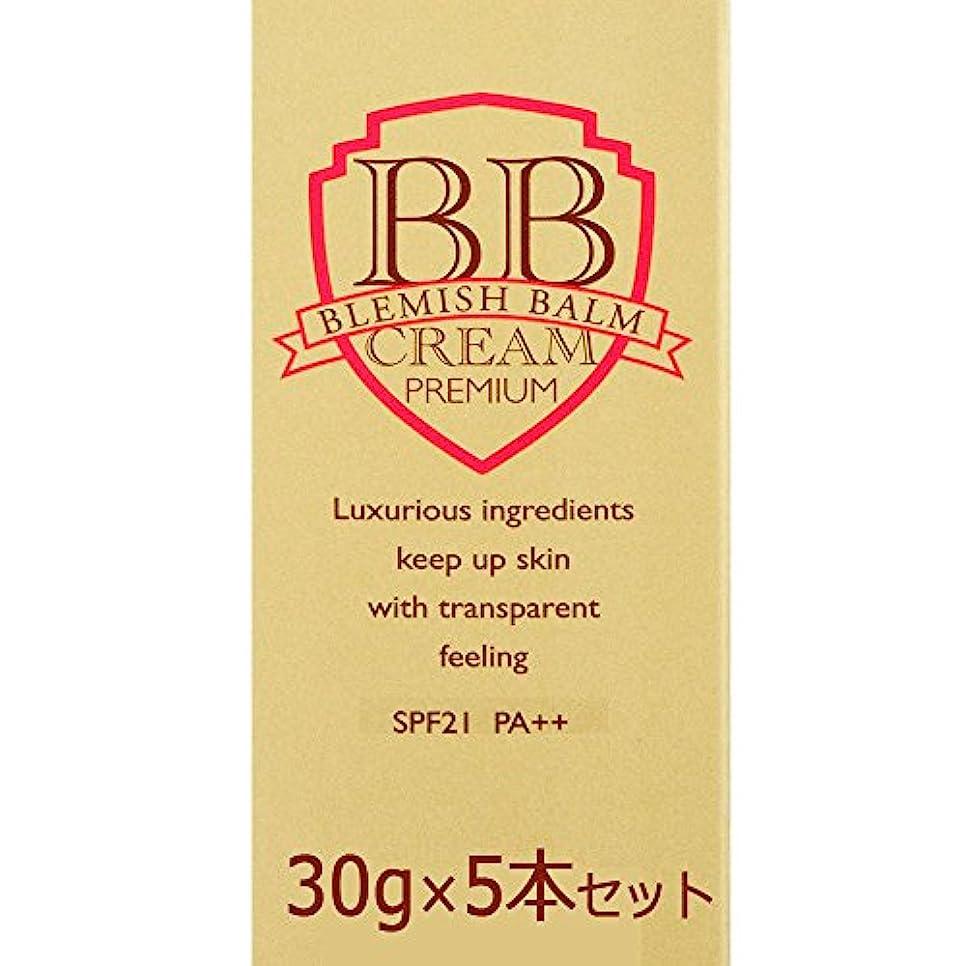 タバコアマチュア南西ピエラス プレミアムBBクリーム 30g×5本セット